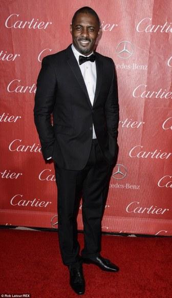 Idris Elba at Golden Globe