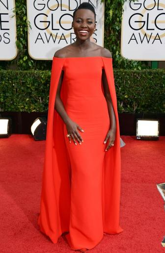 Lupita Nyong 2014 Golden Glode Awards